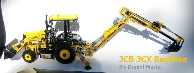 MOC] PF JCB 3CX Backhoe - LEGO Technic and Model Team - Eurobricks
