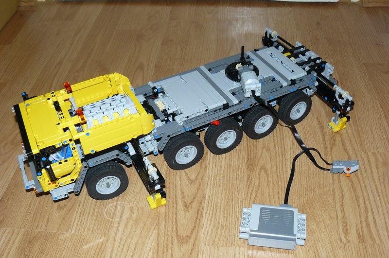 lego technic 42009 mobil crane mk2 replica by dokludi. Black Bedroom Furniture Sets. Home Design Ideas
