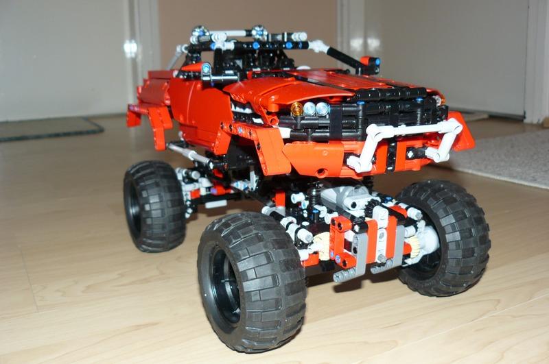 My lego technic 9398 replica evo3 upgrade