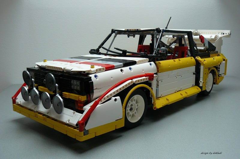 audi s1 quattro by dokludi lego technic and model team. Black Bedroom Furniture Sets. Home Design Ideas