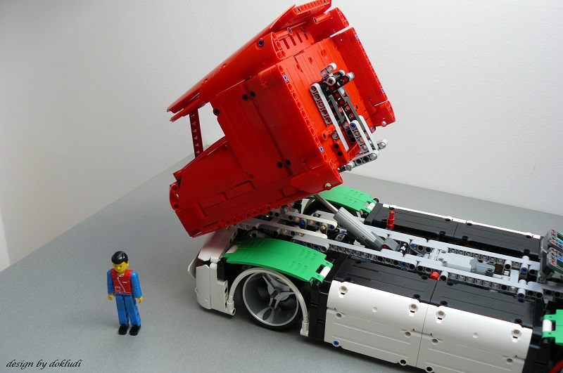 Mercedes Benz Truck Of The Future 2045 By Dokludi Lego Technic And
