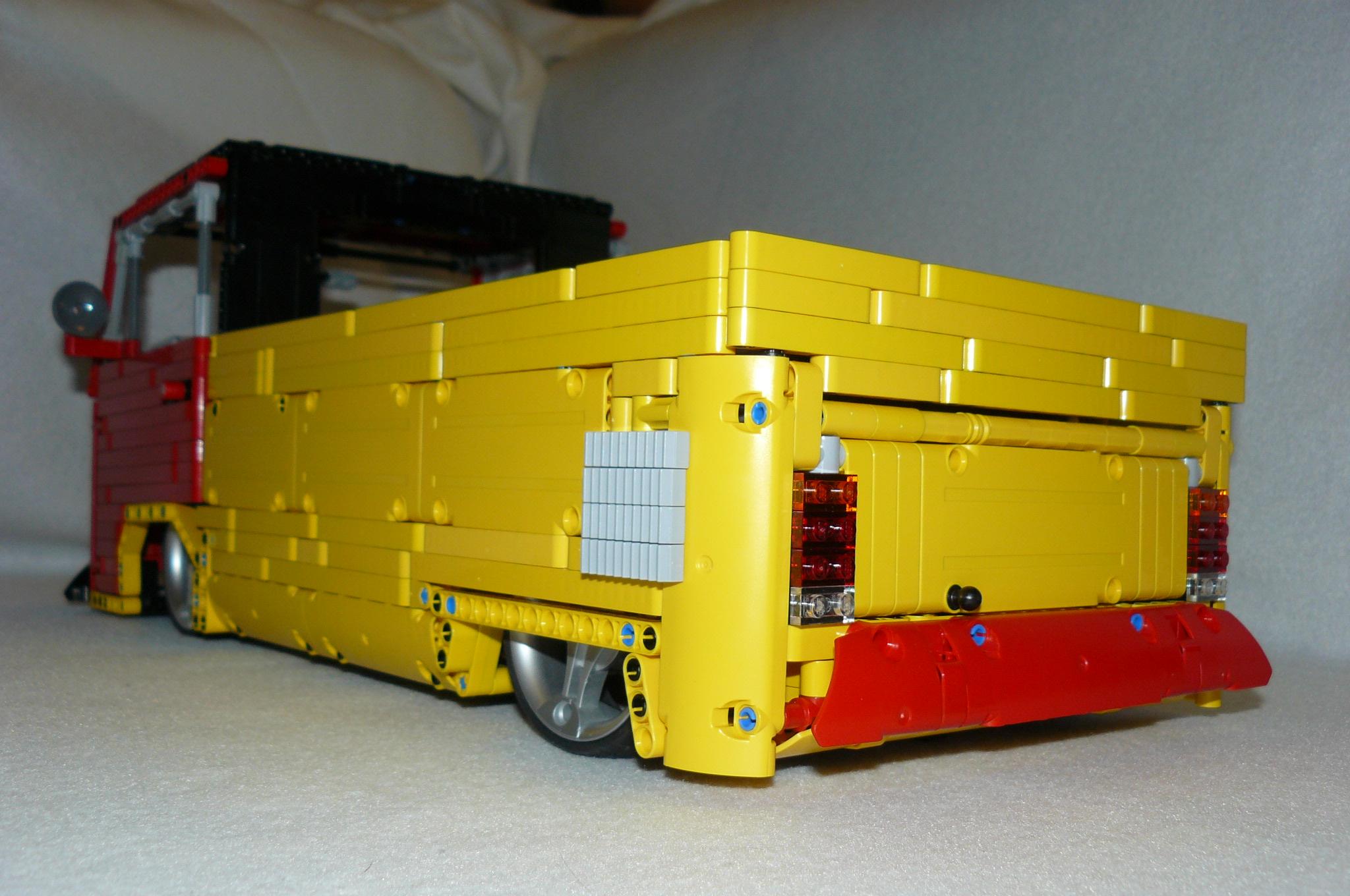 technic vw transporter type 2 lowrider by dokludi lego. Black Bedroom Furniture Sets. Home Design Ideas