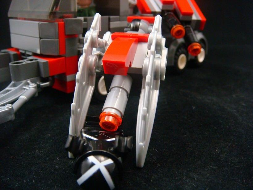 moc新作,科幻战车一只 - 改造博士 - 利弗姆公司の档案室