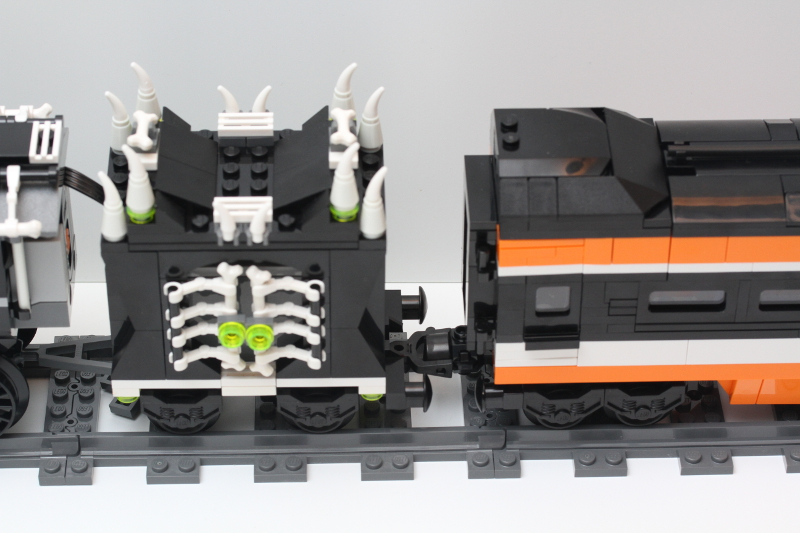 happy halloween - Lego Halloween Train