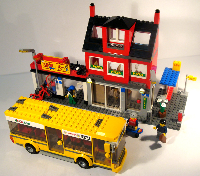 Review 7641 City Corner Lego Town Eurobricks Forums