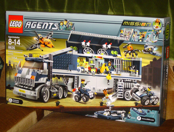 Review Agents 8635 Mobile Command Center Lego Action And