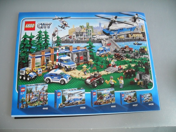 lego city 4439 instructions
