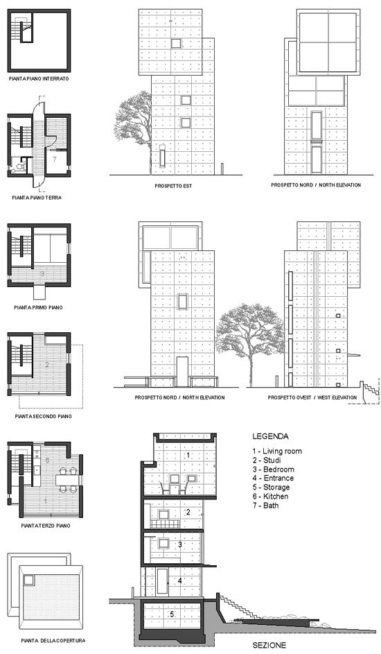 2013 2 Tadao Ando 4x4 House Moc
