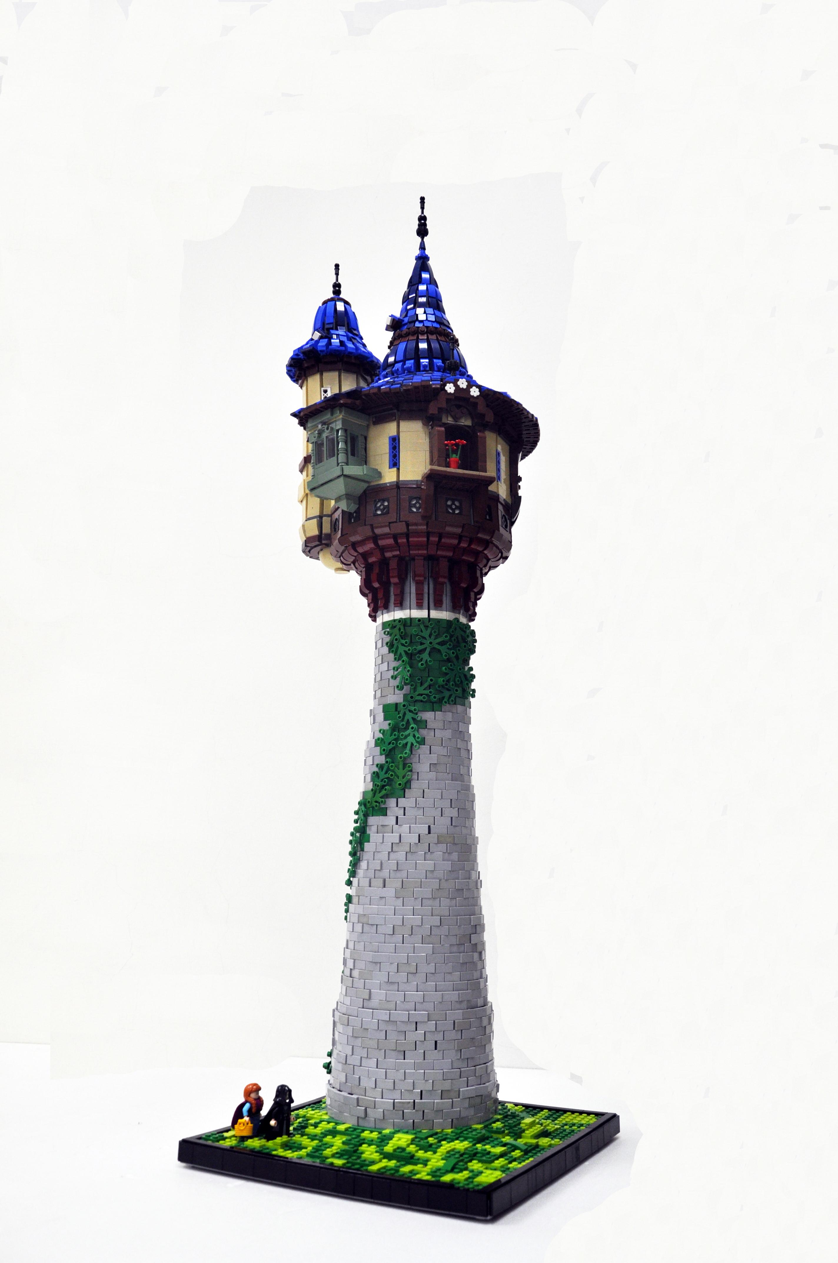迪士尼的城堡奇幻世界--魔髮奇緣建築