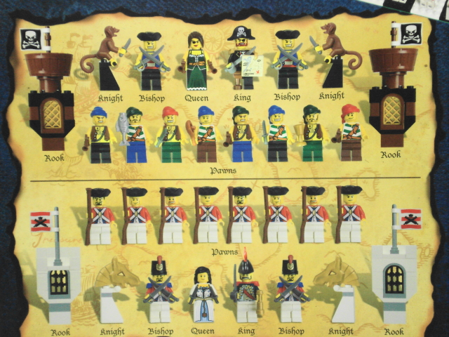 *BRAND NEW* Lego PIRATES CHESS SET 852751