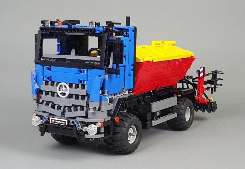 moc mercedes benz arocs 2042 lego technic mindstorms. Black Bedroom Furniture Sets. Home Design Ideas