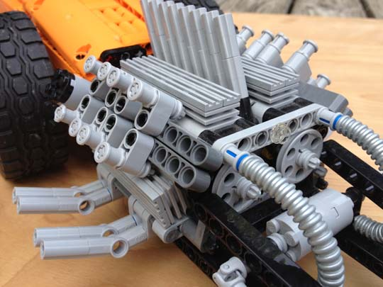 Twin Engine Dragster ala Tommy Ivo, 1960 - LEGO Technic and
