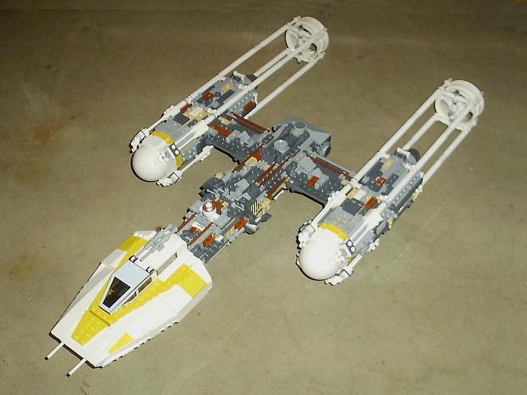 FBTBForums.net :: View topic - My UCS Y-wing Setmod (emphasis on MOD)