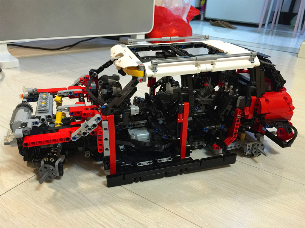 Moc Mini Countryman Cooper S Lego Technic And Model Team
