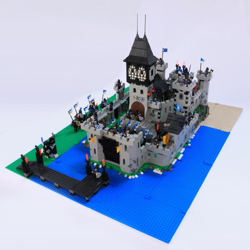Moc Black Falcon S Castle Lego Historic Themes