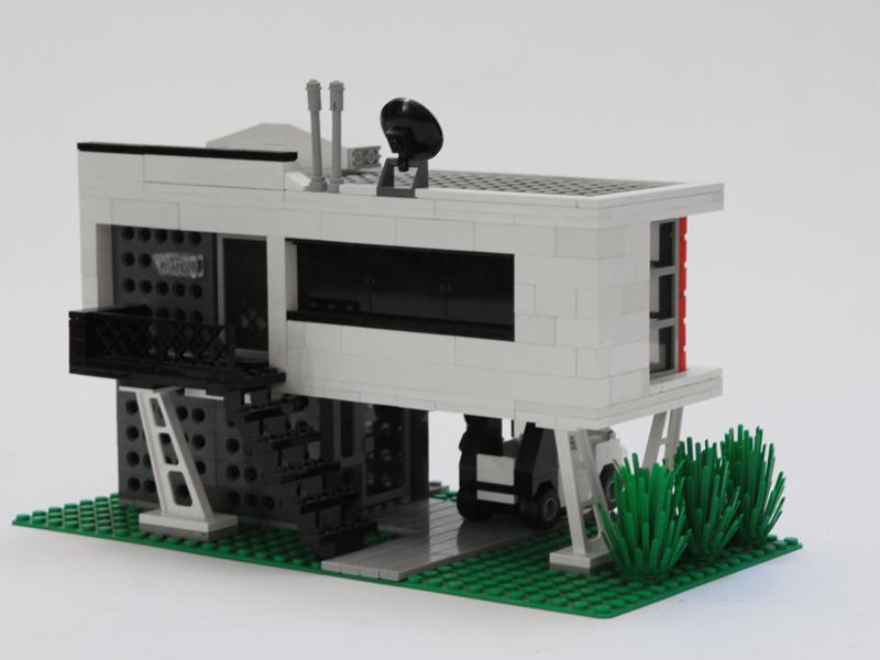 Modern Architecture Lego moc - modern town house - lego town - eurobricks forums