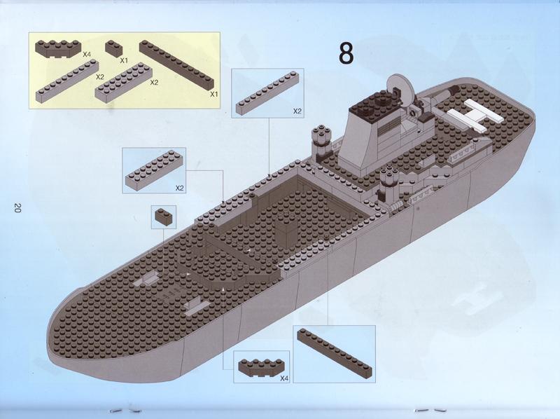 Review Oxford Ncm80000 Navy Destroyer Community Eurobricks