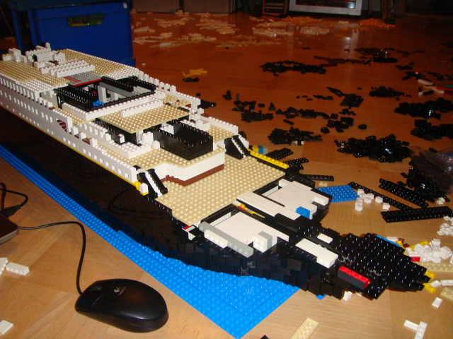 Moc Rms Titanic Special Lego Themes Eurobricks Forums