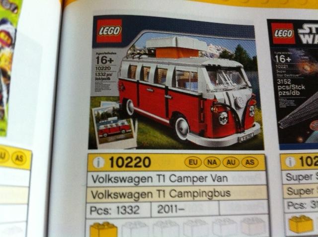 10220 Volkswagen T1 Camper Van Toysnbricks Lego Forums