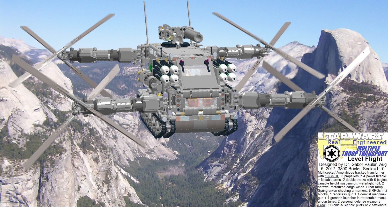 Multiple Troop Transport in mountain hopping mission