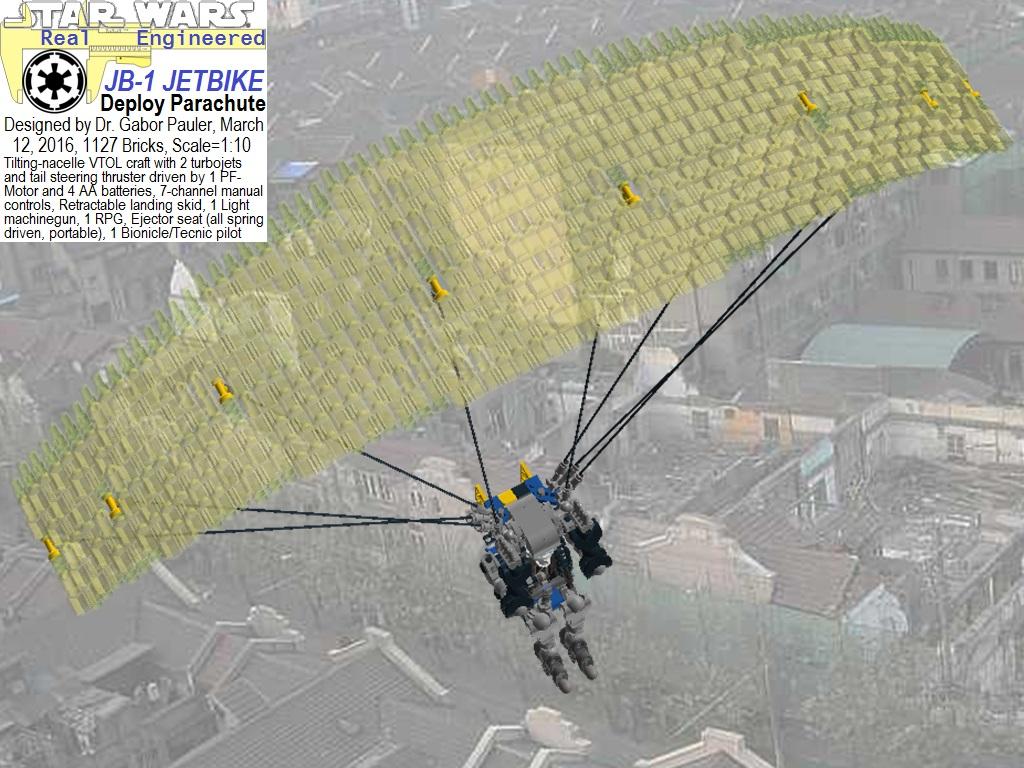 Parachute deployed