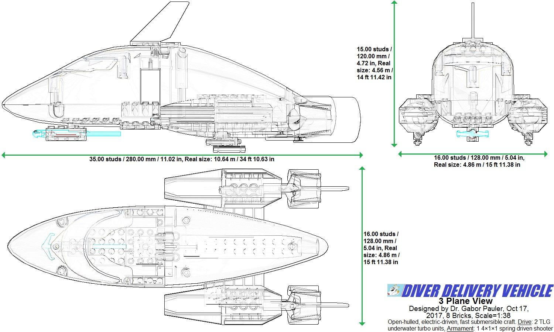 Orca DDV 3 Plane View