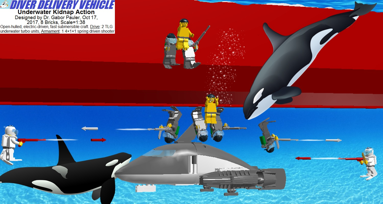 Underwater Kidnap Action