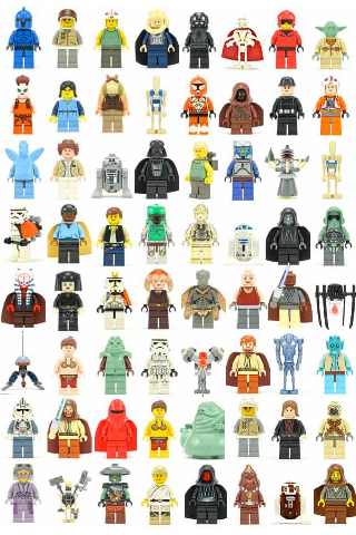 List Of All Lego Star Wars Characters The lego star wars world