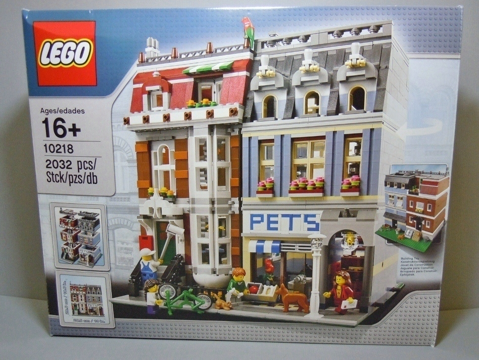 2011 Modular Buildings 10218 Pet Shop 寵物店