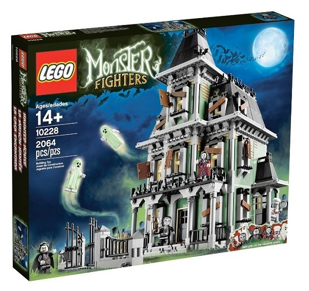 2012 Monster Fighters 10228 Haunted House 鬼屋
