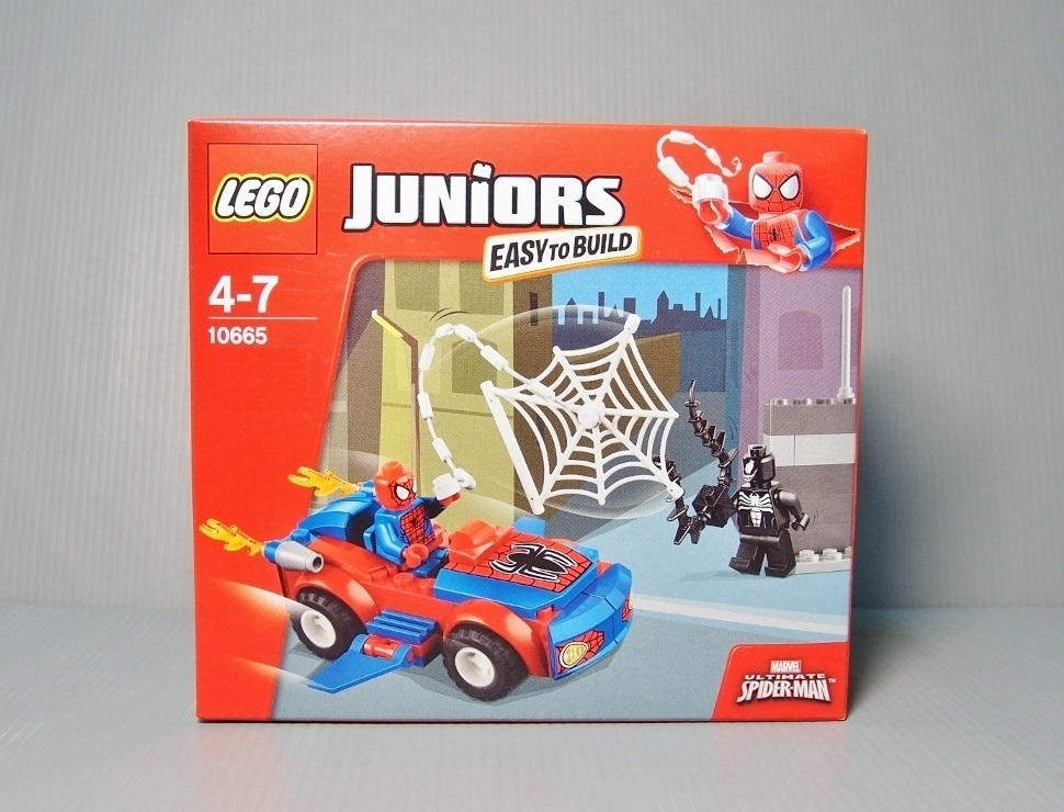 [Juniors] 2014 10665 Spider-Man: Spider-Car Pursuit 蜘蛛人:蜘蛛車追逐