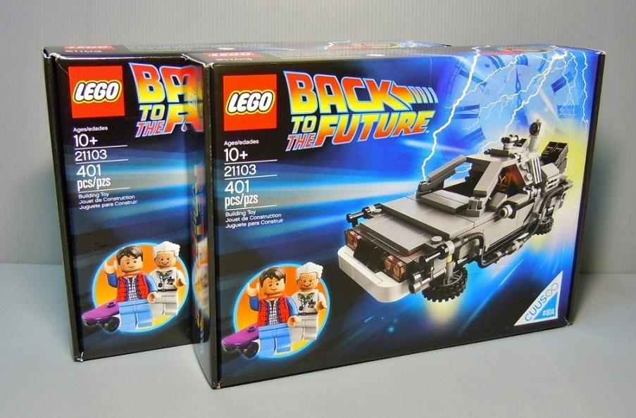 2013 LEGO 21103 The DeLorean Time Machine 回到未來 時光車