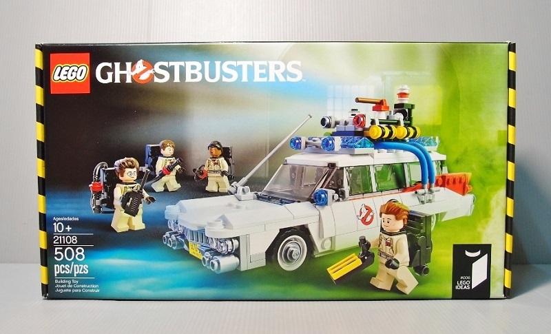 2014 LEGO 21108 Ghostbusters Ecto-1 魔鬼剋星 抓鬼車