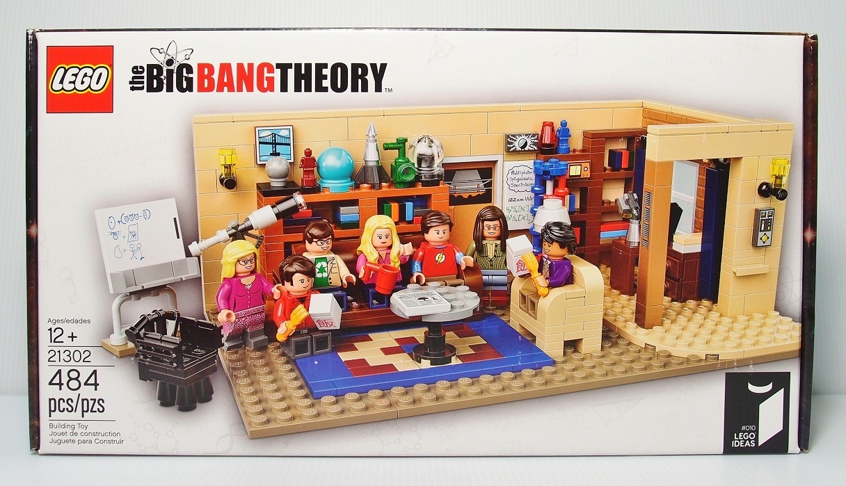 2015 LEGO 21302 The Big Bang Theory 生活大爆炸
