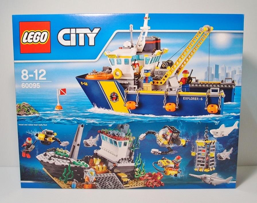 2015 City 60095 Deep Sea Exploration Vessel 深海探險探勘船