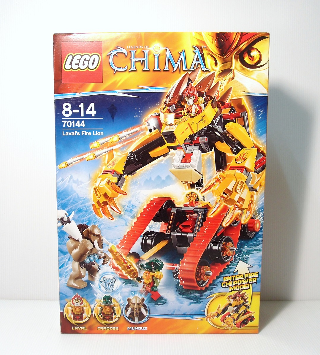 2014 70144 Laval's Fire Lion 無敵獅的火焰獅