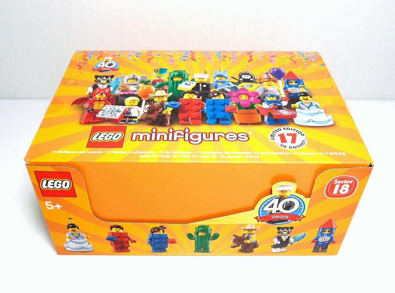 2018 71021 Minifigures Series 18 人偶抽抽包 第十八代