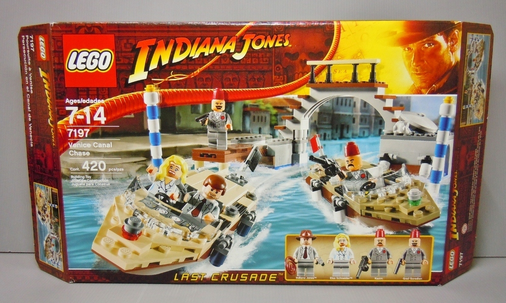 2009 Indiana Jones 7197 Venice Canal Chase 威尼斯運河追逐