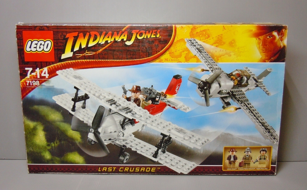 2009 Indiana Jones 7198 Fighter Plane Attack 戰機攻擊