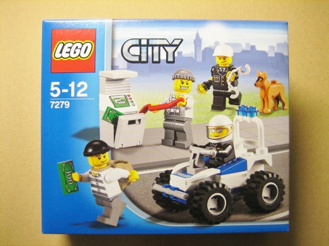 2011 City 7279 Police Minifigure Collection 警匪人偶包