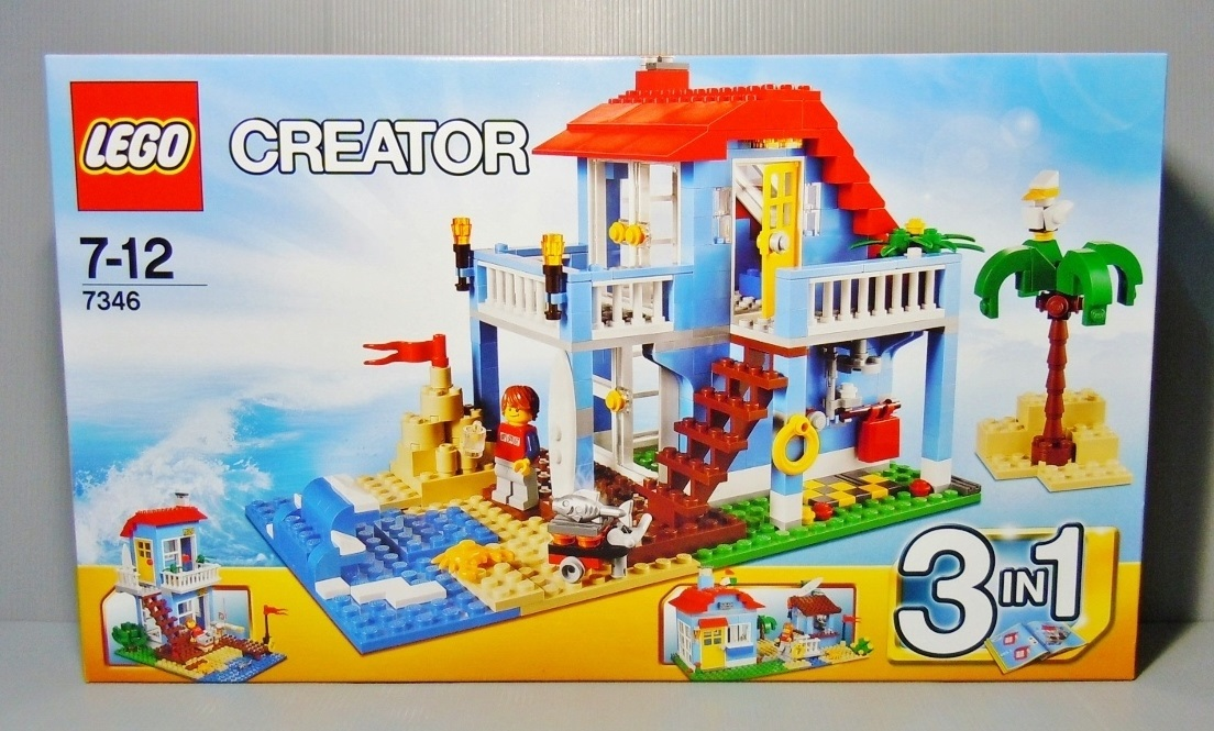 2012 Creator 7346 Seaside House 海邊小屋
