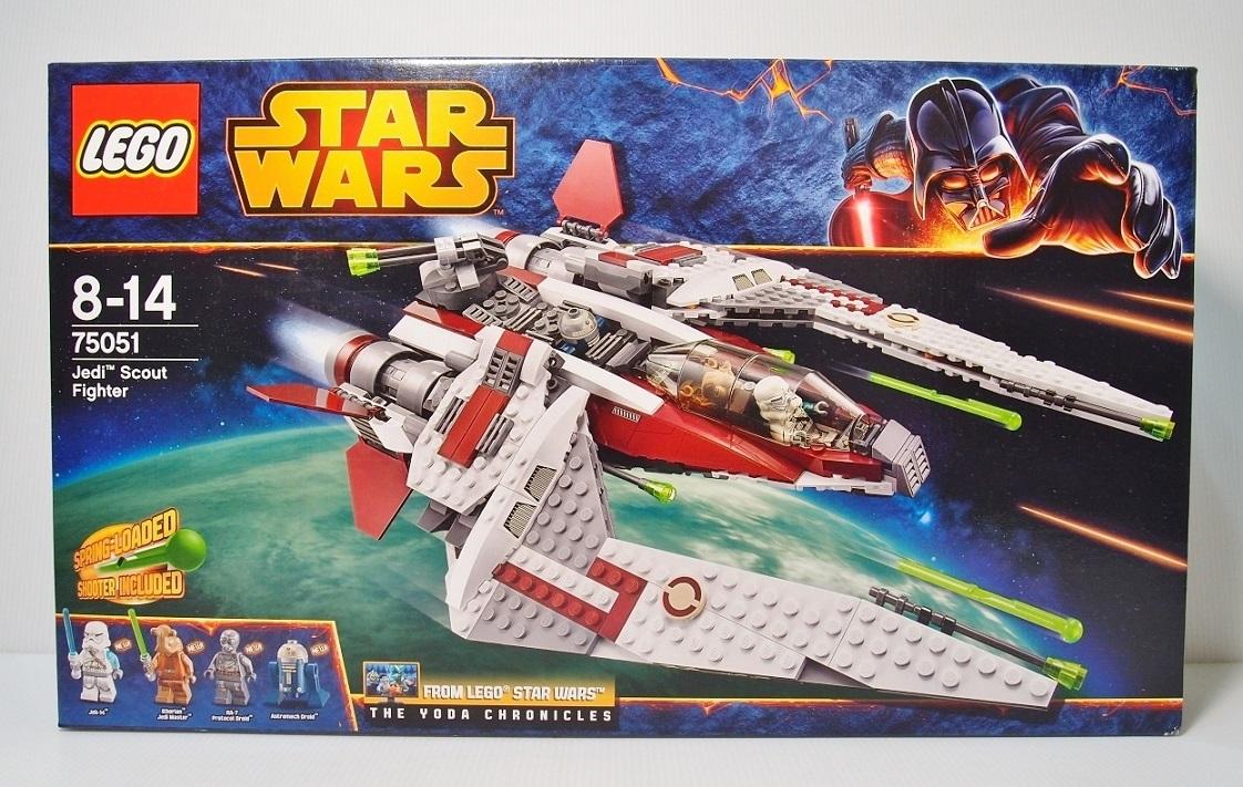 2014 Star Wars 75051 Jedi Scout Fighter 絕地偵察戰鬥機