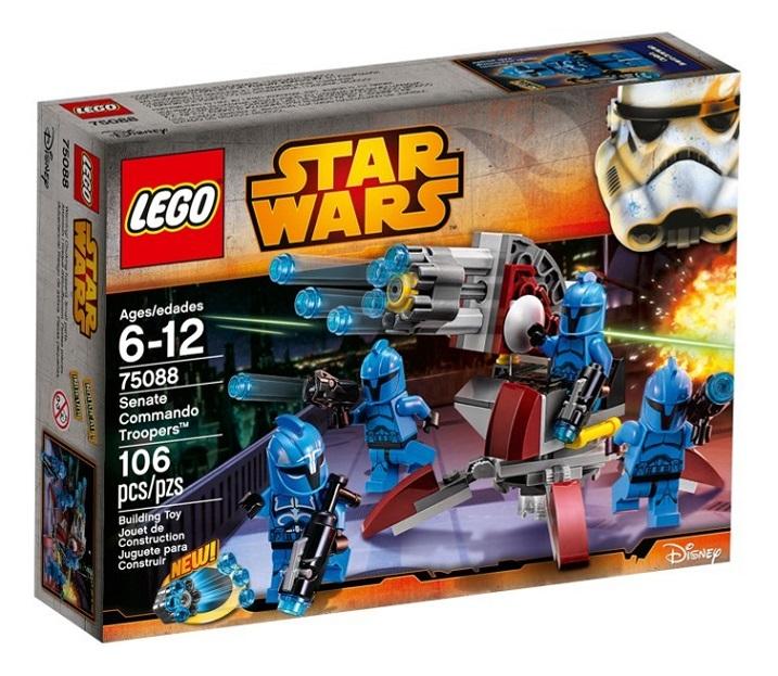 2015 Star Wars 75088 Senate Commando Troopers 參議院突擊隊