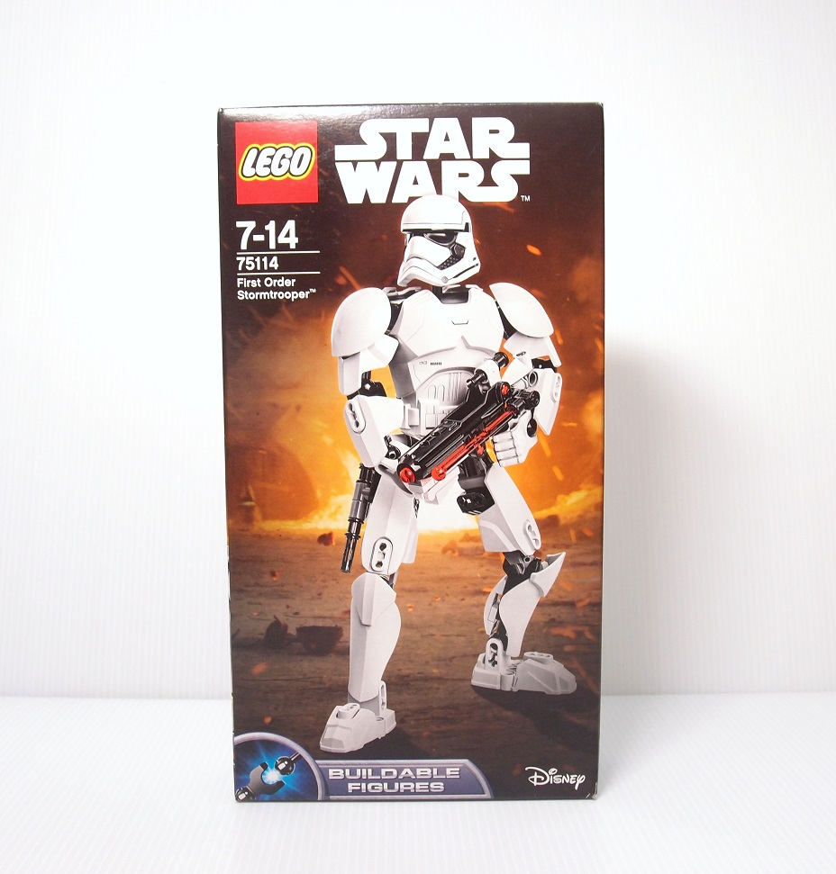 2016 Star Wars 75114 First Order Stormtrooper 第一軍團風暴兵
