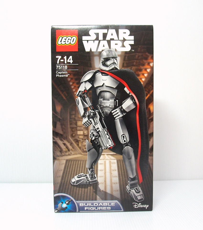2016 Star Wars 75118 Captain Phasma 法斯瑪隊長