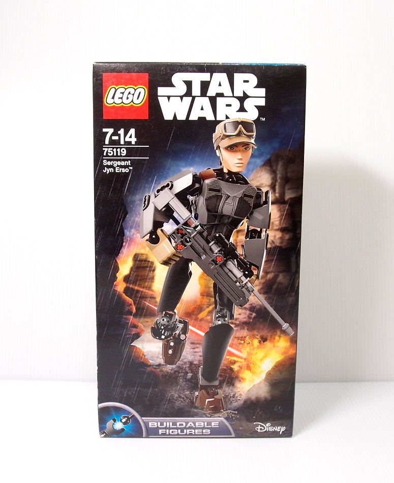 2016 Star Wars 75119 Sergeant Jyn Erso 琴·厄索中士
