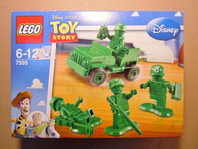 2010 Toy Story 7595 Army Men on Patrol 陸軍巡邏隊(2倍評鑑)
