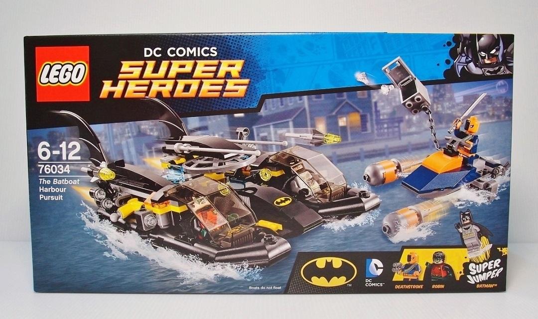 2015 76034 Batboat Harbor Pursuit 蝙蝠俠海港追擊