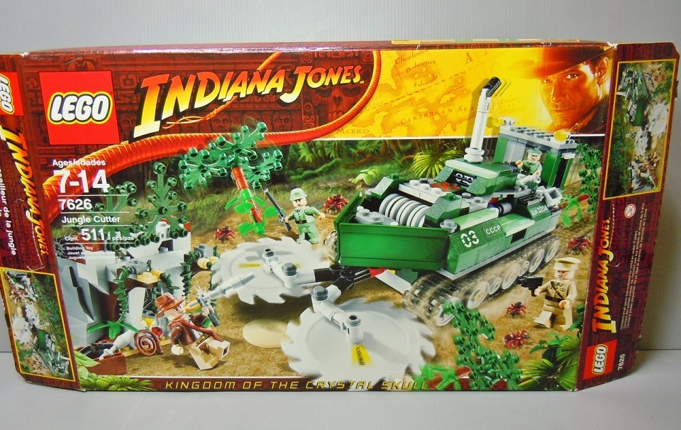2008 Indiana Jones 7626 Jungle Cutter 叢林坦克