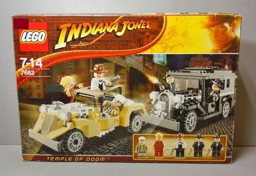 2009 Indiana Jones 7682 Shanghai Chase 上海追逐